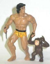 Tarzan - Disjorsa PVC Figure - Tarzan with Cheeta