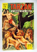Tarzan Vedettes T.V. Monthly Magazine #24 1970 - Sagédition