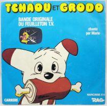 Tchaou et Grodo - Disque 45Tours - Bande Originale Série Tv - Disques Polydor 1983