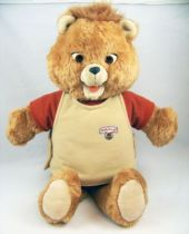 Teddy Ruxpin - Talking audio tape player plush doll - World of Wonders 1985 (loose)