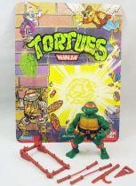 Teenage Mutant Ninja Turtles - 1988 - Michaelangelo (loose with cardback)