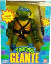 Teenage Mutant Ninja Turtles - 1989 - Giant Turtles Leonardo