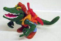 Teenage Mutant Ninja Turtles - 1989 - Leatherhead (loose)