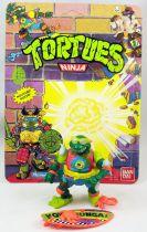 Teenage Mutant Ninja Turtles - 1990 - Mike the Sewer Surfer (loose with cardback)