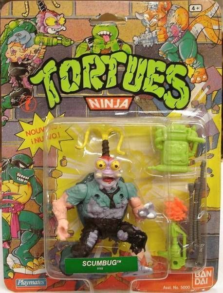 Teenage Mutant Ninja Turtles - 1990 - Scumbug
