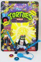 Teenage Mutant Ninja Turtles - 1991 - Classic Rocker Leo (loose with cardback)