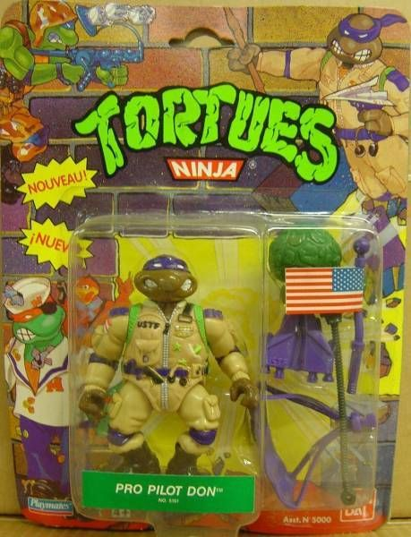 Teenage Mutant Ninja Turtles - 1991 - Pro Pilot Don
