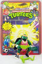 Teenage Mutant Ninja Turtles - 1991 - Shell Slammin\' Mike (loose with cardback)