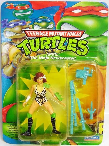 Teenage Mutant Ninja Turtles - 1992 - April the Ninja Newscaster