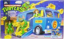 Teenage Mutant Ninja Turtles - 1992 - Channel 6 Newsvan with April O\'Neil