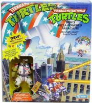 Teenage Mutant Ninja Turtles - 1992 - Don\'s Pizza-Powered Parachute with Stunt Reptile Donatello
