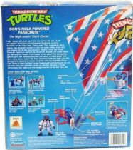 Teenage Mutant Ninja Turtles - 1992 - Don\'s Pizza-Powered Parachute with Stunt Reptile Donatello