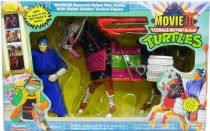 Teenage Mutant Ninja Turtles - 1992 - Movie III Samurai Rebel War Horse with Rebel Soldier