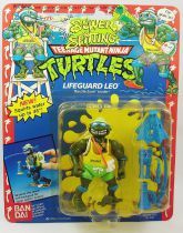 Teenage Mutant Ninja Turtles - 1992 - Sewer Spitting - Lifeguard Leo