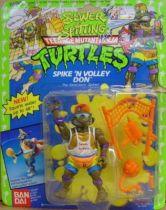 Teenage Mutant Ninja Turtles - 1992 - Sewer Spitting - Spike\'n Volley Don