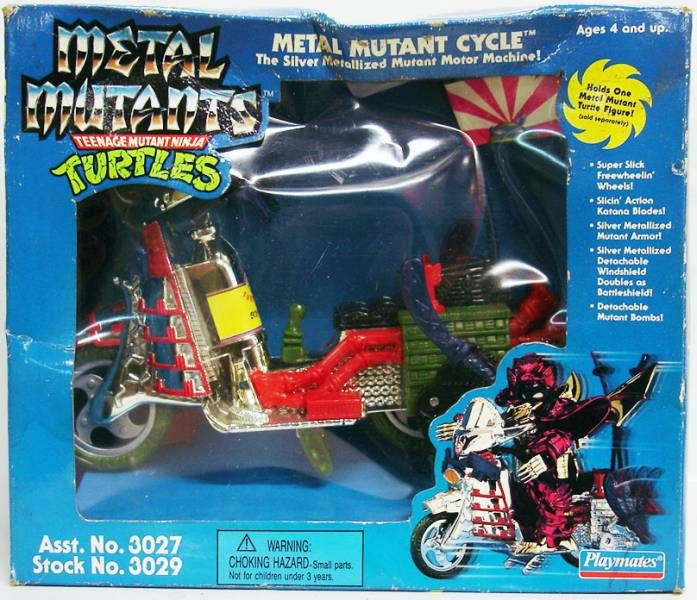 Teenage Mutant Ninja Turtles - 1995 - Metal Mutant Cycle