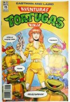 Teenage Mutant Ninja Turtles - Comic Book Ediciones Zinco - Aventuras Tortugas Ninja #23