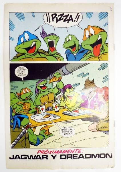 Teenage Mutant Ninja Turtles - Comic Book Ediciones Zinco - Aventuras Tortugas Ninja #26