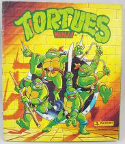 Teenage Mutant Ninja Turtles - Panini Stickers collector book 1990