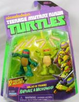 Tortues Ninja (Nickelodeon) - Ninjas in Training Raphael & Michelangelo