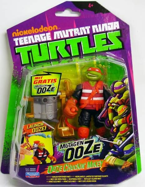 Teenage Mutant Ninja Turtles (Nickelodeon) - Ooze Chuckin\' Mikey