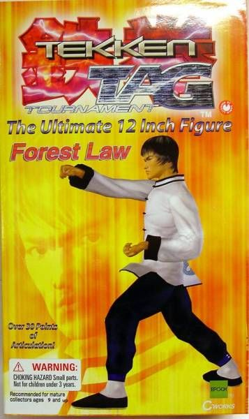 Tekken Tag Tournament - Forest Law - 12\\\'\\\' figure - Epoch
