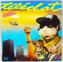 Téléchat - Disque 45T- Générique série TV - Disque Ades 1984