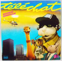 Telechat - Mini-LP Record - TV Soundrack Theme - Ades Records 1984