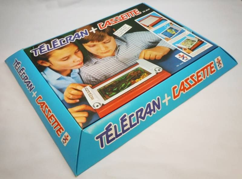 Telecran + Cassette (Magic Screen) - Ceji (mint in box)