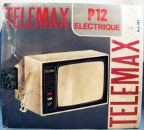 TeleMax P12 Super 8 Movie viewer with 2 cartridges Mickey & Popeye (loose with box)