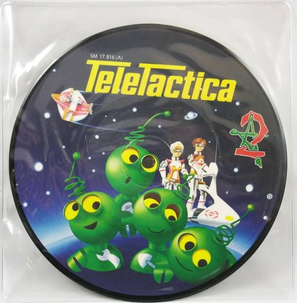 Teletactica - Mini-picture LP Record - Original French TV series Soundtrack - Arc En Ciel 1982