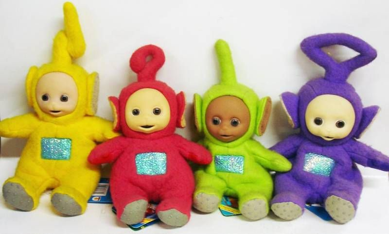 Teletubbies - Set of 4 Bean Bags dolls