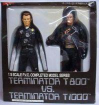 Terminator 2 - T-800 vs T-1000 Mint in box 12 inches Tsukuda