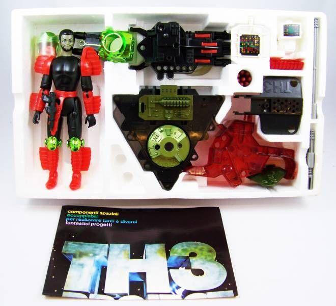TH3 Project - Edison Giocattoli - Black Genius 3 Ref 895 (neuf en boite)