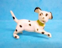 The 101 dalmatians - Jim figure - Baby runing (green collar)