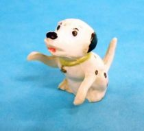 The 101 dalmatians - Jim figure - Baby seating arms up (green collar)