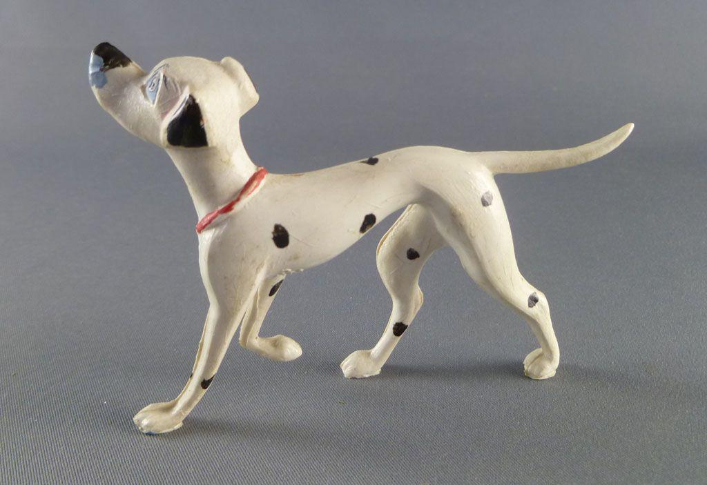 The 101 dalmatians - Jim figure - Pongo standing (red collar)
