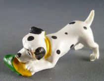 The 101 dalmatians - Jim figure - Puppy playing with slipper (yellow collar)