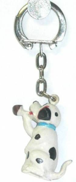 The 101 dalmatians - Jim Keychain - Baby smocking (blue collar)