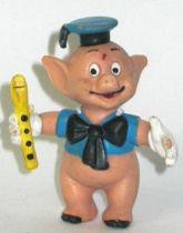 The 3 Little Pigs , Pig flautist Comics Spain pvc figure