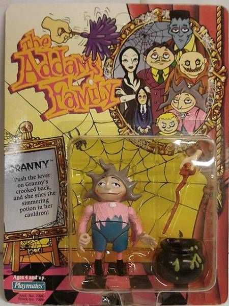 The Animated Addams Family - Granny - Playmates figure