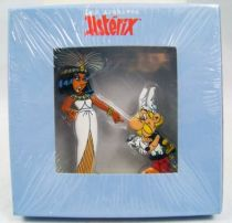 The Archives of Asterix - Atlas - Metal figures n°1 - Astérix and Cleopatra