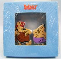 The Archives of Asterix - Atlas - Metal figures n�11 - Ob�lix and Ca�us Obtus