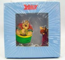 The Archives of Asterix - Atlas - Metal figures n°12 - Caïus Bonus and Caligula Minus