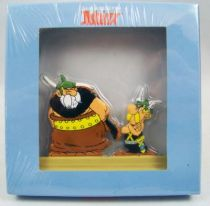 The Archives of Asterix - Atlas - Metal figures n°25 - Téléféric and Astérix