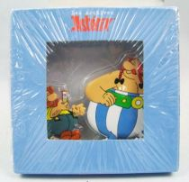 The Archives of Asterix - Atlas - Metal figures n�7 - Petisuix and Ob�lix