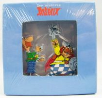 The Archives of Asterix - Atlas - Metal figures n°8 - Jolitorax and Zebigbos