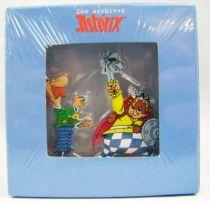 The Archives of Asterix - Atlas - Metal figures n°8 - Jolitorax and Zebigbos