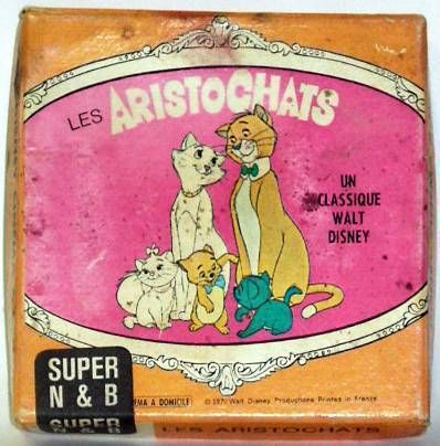 The Aristocats  - Super 8 black and white movie