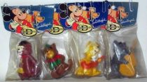 The Aristocats - Delacoste squeeze toys - Set of 4 Jazzcats